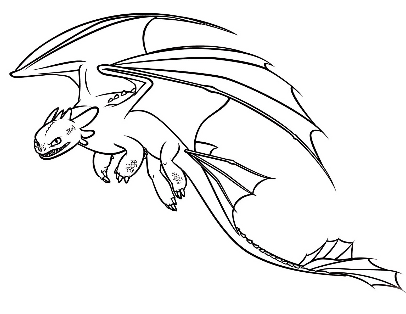 cartoon dragons coloring pages - photo#25