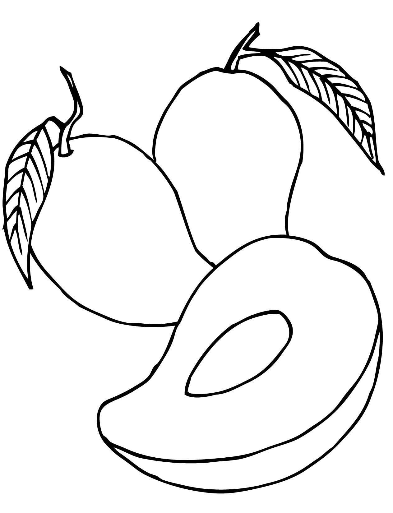 mango coloring pages - photo#21
