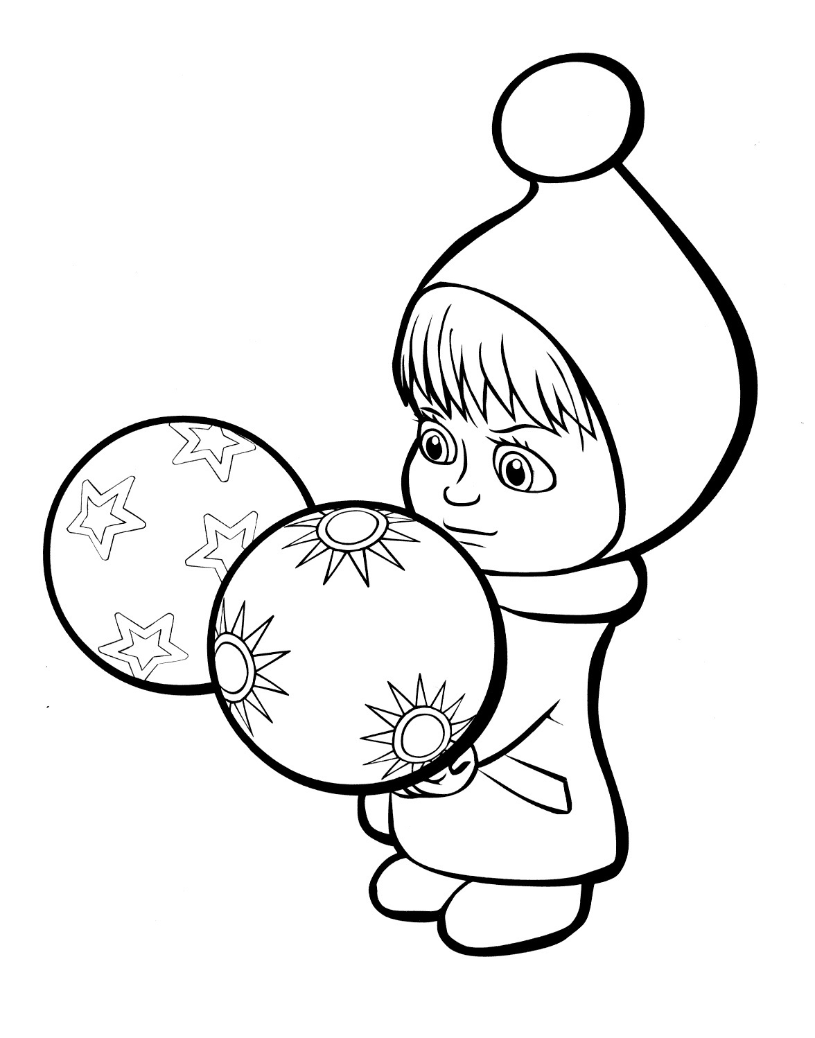 masha i medved coloring pages - photo#11