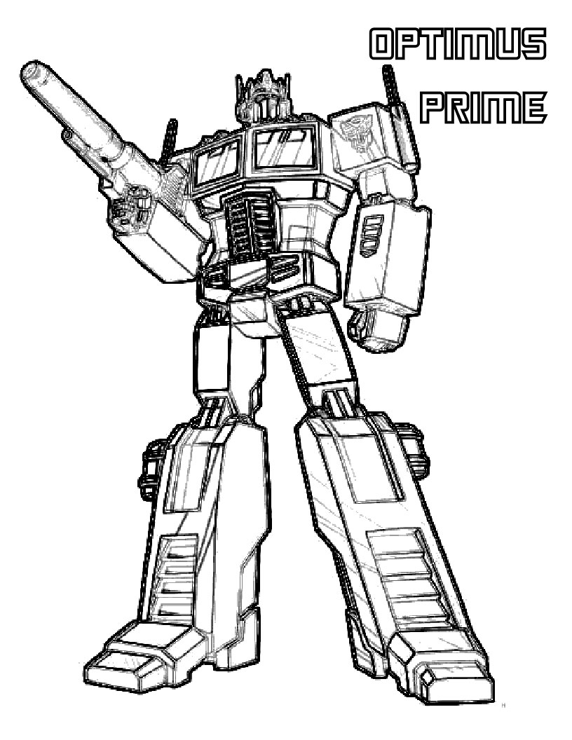 - Optimus prime dessin ...